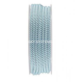 Шелковый шнур Милан 226 | 3.0 мм, Цвет: Бирюза 11