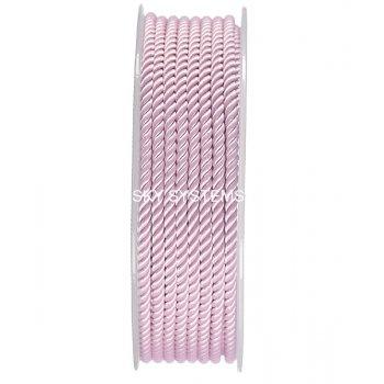 Шелковый шнур Милан 226 | 3.0 мм, Цвет: Розовый 17