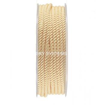 Шелковый шнур Милан 226 | 3.0 мм, Цвет: Желтый 12