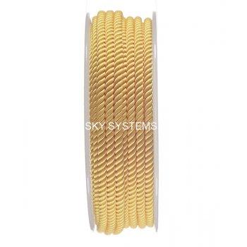 Шелковый шнур Милан 226 | 3.0 мм, Цвет: Желтый 13
