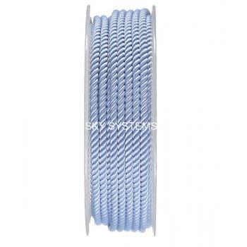Шелковый шнур Милан 226 | 3.0 мм, Цвет: Синий 21