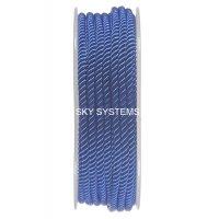 Шелковый шнур Милан 226 | 3.0 мм, Цвет: Синий 24