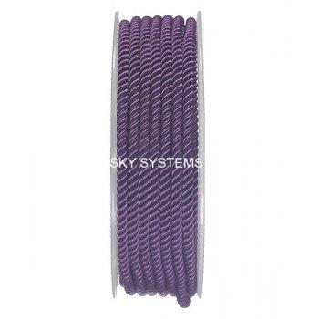 Шелковый шнур Милан 226 | 3.0 мм, Цвет: Фиолетовый 28