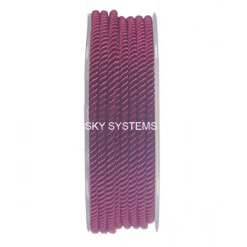 Шелковый шнур Милан 226 | 3.0 мм, Цвет: Малиновый 29