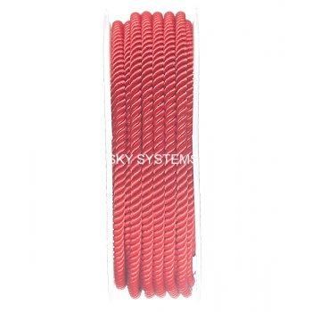 Шелковый шнур Милан 226 | 3.0 мм, Цвет: Красный 30