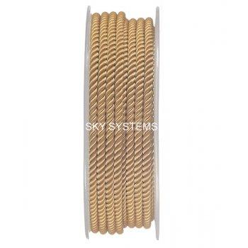Шелковый шнур Милан 226 | 3.0 мм, Цвет: Горчичный 32