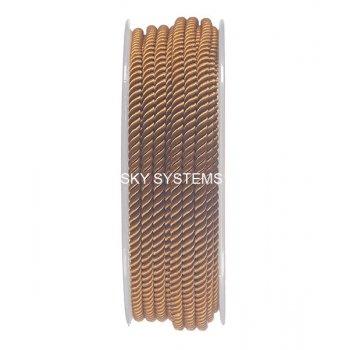Шелковый шнур Милан 226 | 3.0 мм, Цвет: Коричневый 33