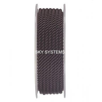 Шелковый шнур Милан 226 | 3.0 мм, Цвет: Коричневый 35