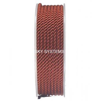 Шелковый шнур Милан 226 | 3.0 мм, Цвет: Терракот 06