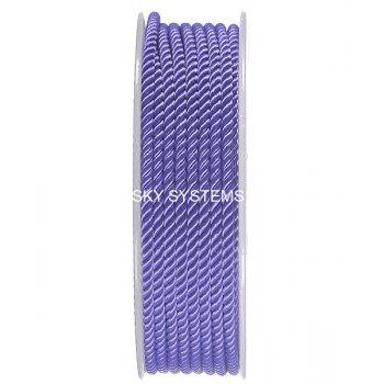 Шелковый шнур Милан 226 | 3.0 мм, Цвет: Фиолетовый 27