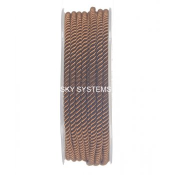 Шелковый шнур Милан 226 | 3.0 мм, Цвет: Коричневый 34
