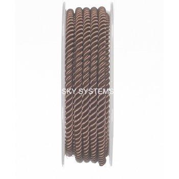 Шелковый шнур Милан 226 | 4.0 мм, Цвет: Коричневый 05