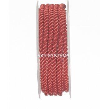 Шелковый шнур Милан 226   4.0 мм, Цвет: Красный 30