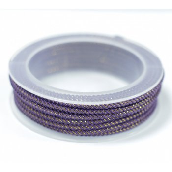 Шелковый шнур Милан 235 | 3.0 мм Цвет: Фиолетовый 25