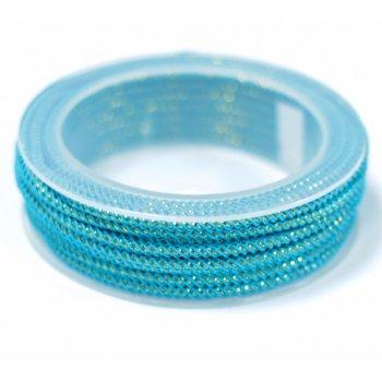 Шелковый шнур Милан 235 | 3.0 мм Цвет: Бирюза 10