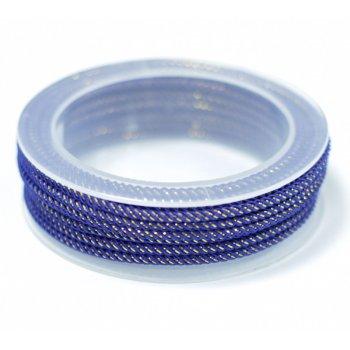 Шелковый шнур Милан 235 | 3.0 мм Цвет: Синий 24