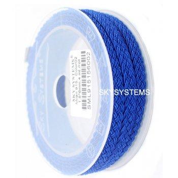 Шелковый шнур Милан 915 | 1.5x6.0 мм Цвет: Синий 02