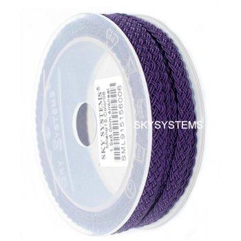 Шелковый шнур Милан 915 | 1.5x6.0 мм Цвет: Фиолетовый 06