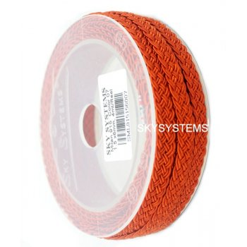 Шелковый шнур Милан 915 | 1.5x6.0 мм Цвет: Красный 07
