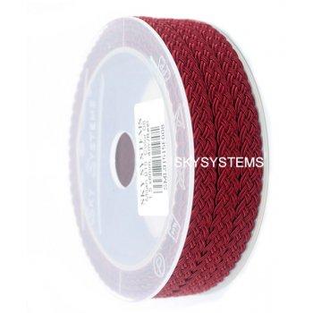 Шелковый шнур Милан 915 | 1.5x6.0 мм Цвет: Бордовый 08