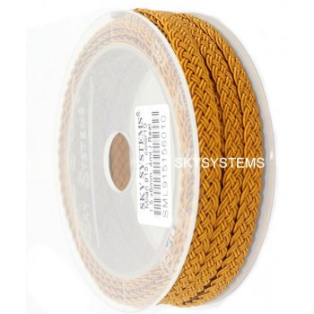 Шелковый шнур Милан 915 | 1.5x6.0 мм Цвет: Золотой 10