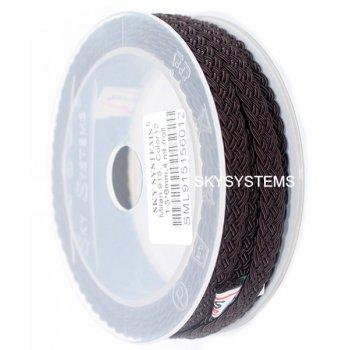 Шелковый шнур Милан 915 | 1.5x6.0 мм Цвет: Коричневый 12