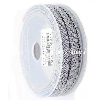 Шелковый шнур Милан 915 | 1.5x6.0 мм Цвет: Серый 13