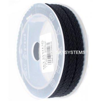 Шелковый шнур Милан 915 | 1.5x6.0 мм Цвет: Черный 16