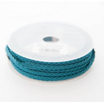 Шелковый шнур Милан 915 | 1.5x6.0 мм Цвет: Бирюза