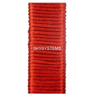 Шелковый гладкий шнур 1.5 мм Красный 103