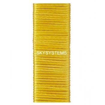 Шелковый шнур гладкий | 1.0 мм Цвет: Желтый 21