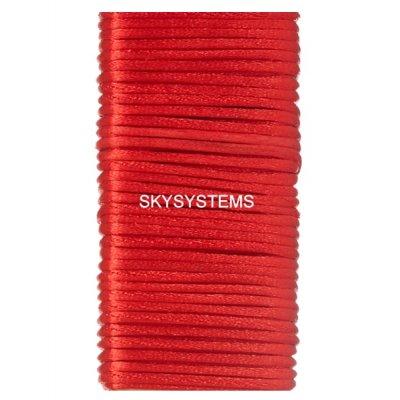 Шелковый шнур гладкий | 1.0 мм Цвет: Красный 103
