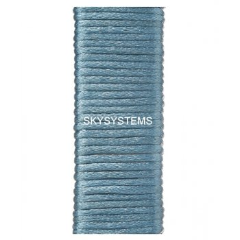 Шелковый шнур гладкий | 2.0 мм Цвет: Сине-серый