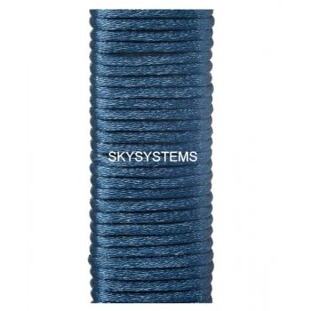 Шелковый шнур гладкий | 2.0 мм Цвет: Темно-синий 15