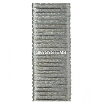 Шелковый шнур гладкий | 2.0 мм Цвет: Светло-серый