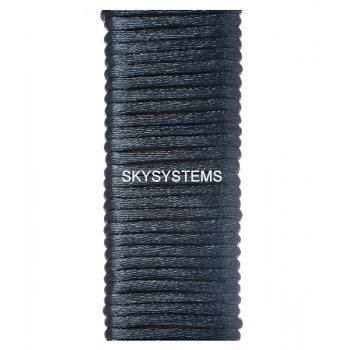 Шелковый шнур гладкий | 2.0 мм Цвет: Черно-синий