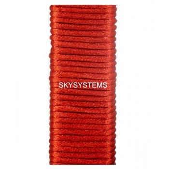 Шелковый шнур гладкий | 3.0 мм Цвет: Красный
