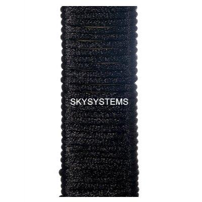 Шелковый шнур гладкий | 3.0 мм Цвет: Черный 102