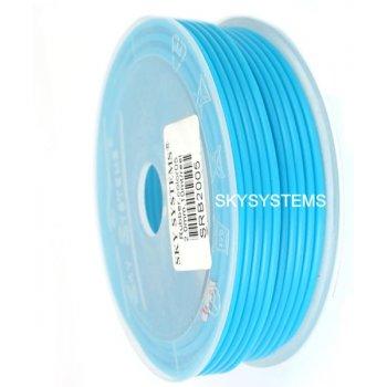 2,5 мм, Каучуковый шнур | Голубой 22 (Италия)