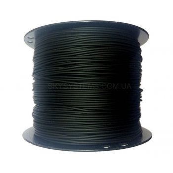 2,0 мм, Каучуковый шнур | Черный (Тайвань)