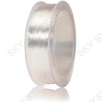 Прозрачный силиконовый шнур 0.8 мм
