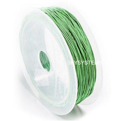 Нить Шамбала - 1.0 мм | Цвет Зеленый 61