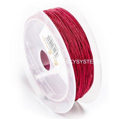 Нить Шамбала - 1.0 мм | Цвет Бордовый 09
