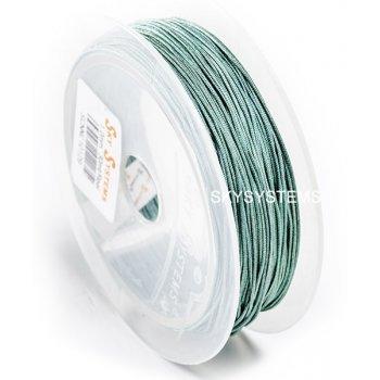 Зеленая нить Шамбала 1.0 мм (29)