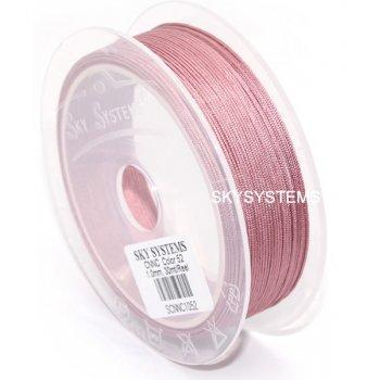 Розовая нить Шамбала 1.0 мм (70)