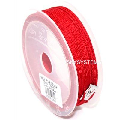 Нить Шамбала - 1.2 мм | Цвет Красный 07