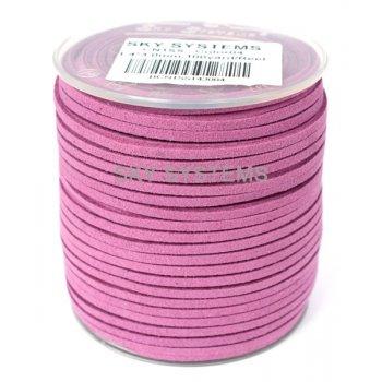 Шнур Алькантара 1.4x3.0 мм Фиолетовый 04