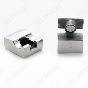 10 x 5 мм прямоугольный магнитный стальной замок | Rainto 1411