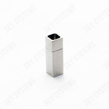 4 x 4 мм квадратный стальной замок | Rainto 15211