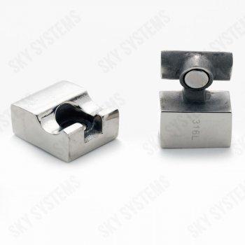 17 x 5 мм прямоугольный магнитный стальной замок